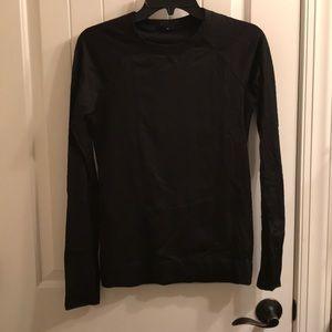 Lululemon black long sleeve shirt - size 8 women